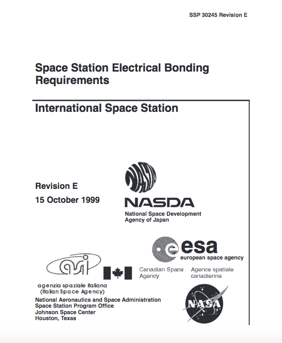 Requirements International Space Station